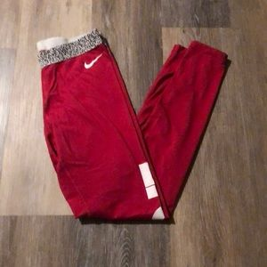 Nike Dri Fit Full Length Leggings! Hot Pink